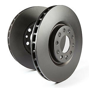 EBC Replacement Front Vented Brake Discs for Audi Q7 (4L) 3.0 TD (2006 > 15)
