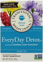 Traditional Medicinals Everyday Detox, 16-count Boxes (pack Of 6) , New, Free Sh