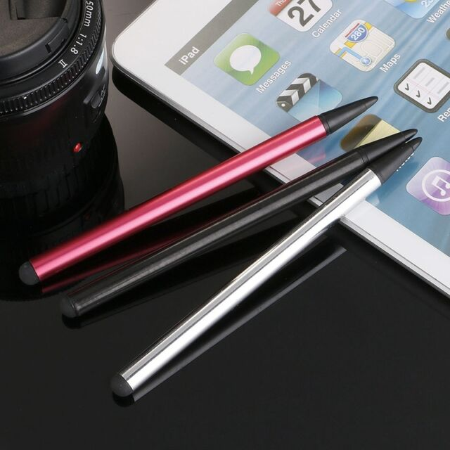 2 in1 Touch Screen Pen Stylus Universal For iPhone iPad Samsung Tablet Phone PC
