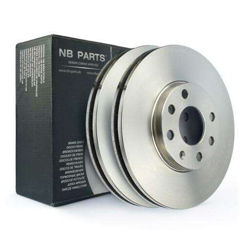 2x Bremsscheibe vorne 256mm 4-Loch belüftet Opel Astra G 1.2 1.4 1.6 1.7 1.8