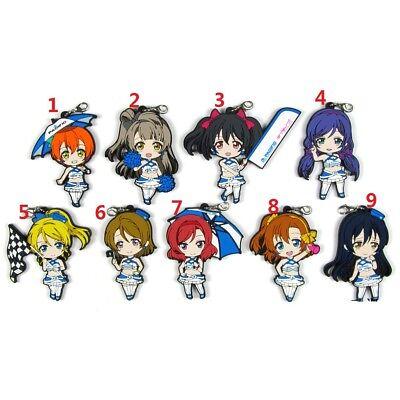 Lovelive Anime Love Live Nico Kotori Maki Macarons Keychain Rubber Strap Charm