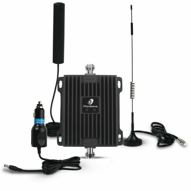 850/1700MHz Cell Phone Signal Booster Boosts 2G 3G 4G Signals Car Use Repeater