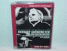 """*****DVD-HERBERT GRÖNEMEYER""""STAND DER DINGE""""-EMI Electrola-DoDVD+DoCD*****"""
