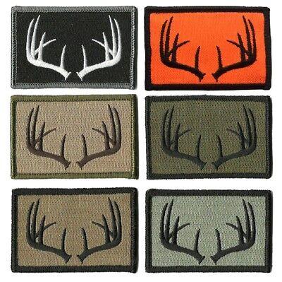 buckup tactical morale patch haken geweih hirsch wildleben jagdgr n jagd flicken ebay. Black Bedroom Furniture Sets. Home Design Ideas