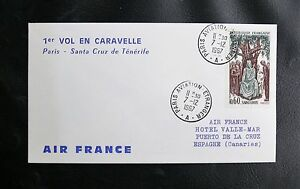 1er-VOL-EN-CARAVELLE-PARIS-SANTA-CRUZ-DE-TENERIFE-PARIS-AVIATION-7-12-1967