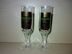 2-Glaeser-MOSKOVSKAYA-CRISTALL-Wodka-2cl-4cl-Schnapsglaeser-KULT-TOP-LOOK-gt