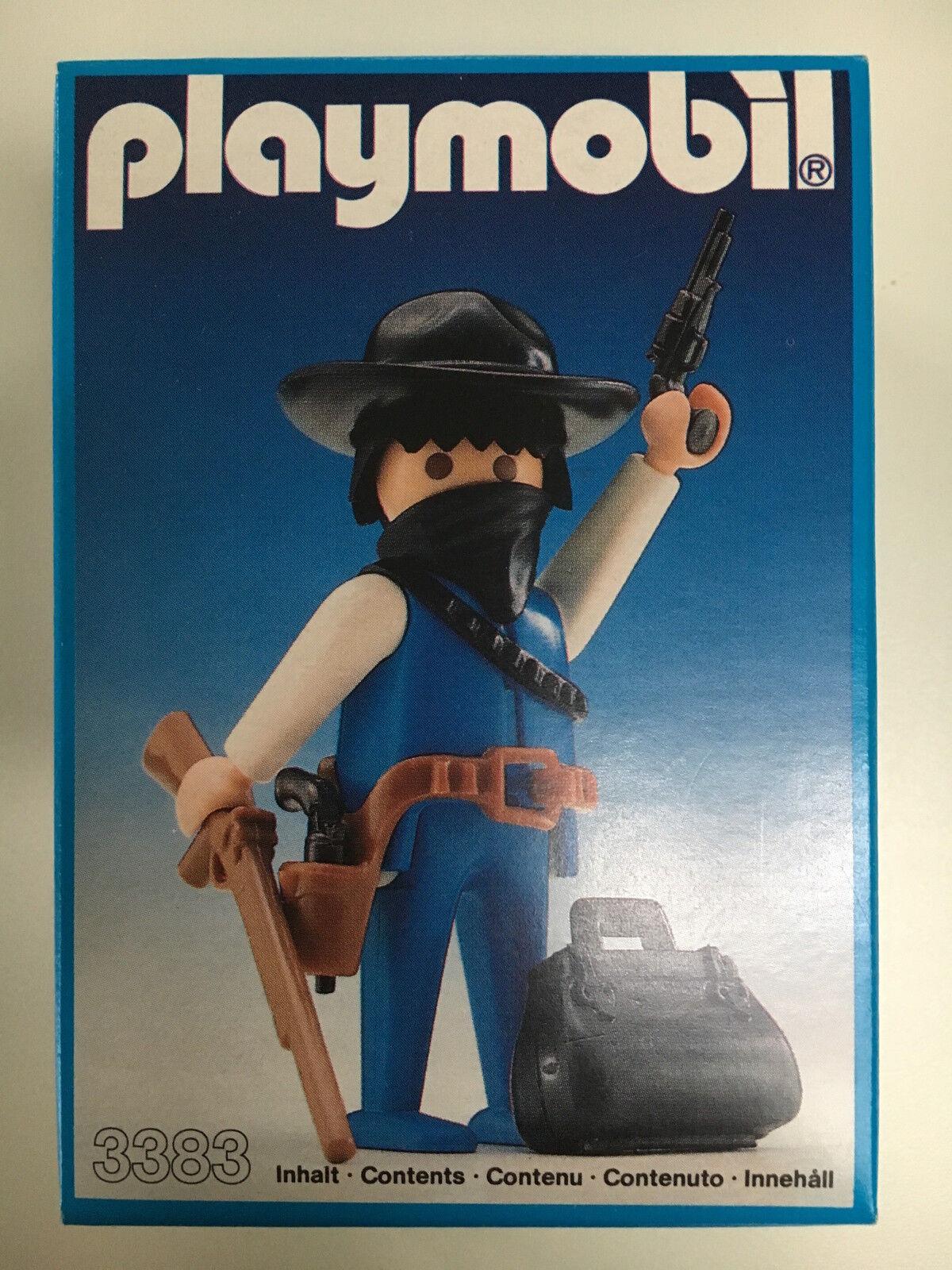 PLAYMOBIL COWBOY 3383 MISB 1986