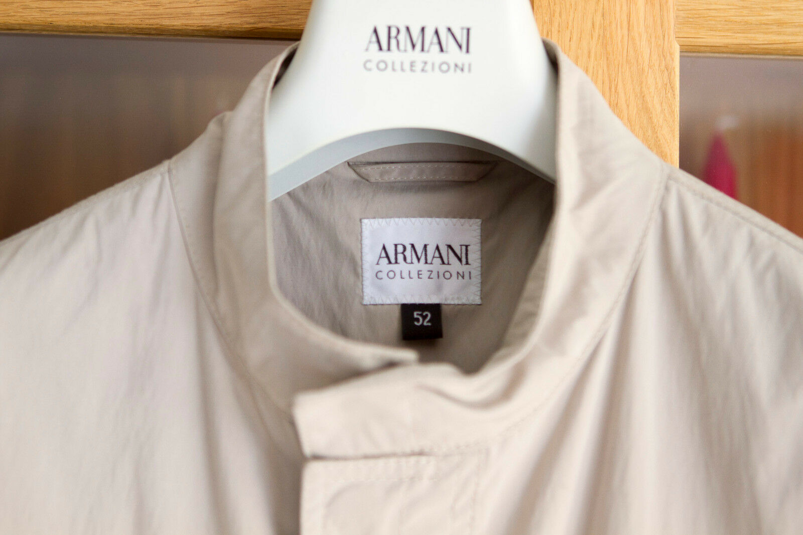 ARMANI TRENCHCOAT GREAT CONDITION WIE NEU | Outlet Online Store
