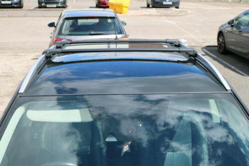 barre trasversali Nero portabagagli in alluminio Jeep Patriot 2007