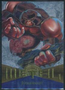 1995-Marvel-Metal-Silver-Flasher-Trading-Card-99-Juggernaut