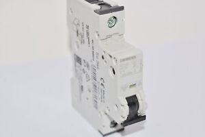 "With 4/"" Din Rail YuCo 1p 1a B Curve 277vac 115vdc Miniature Circuit Breaker"