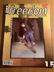 FREEDOM-BMX-MAGAZINE-GER-Issue-15-1996-Midschool-Bmx-Oldschool-Bike-FBM-S-amp-M