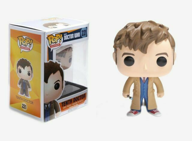 Television FUNKO POP Doctor Who-dixième docteur #221 UK Stock-in hand *