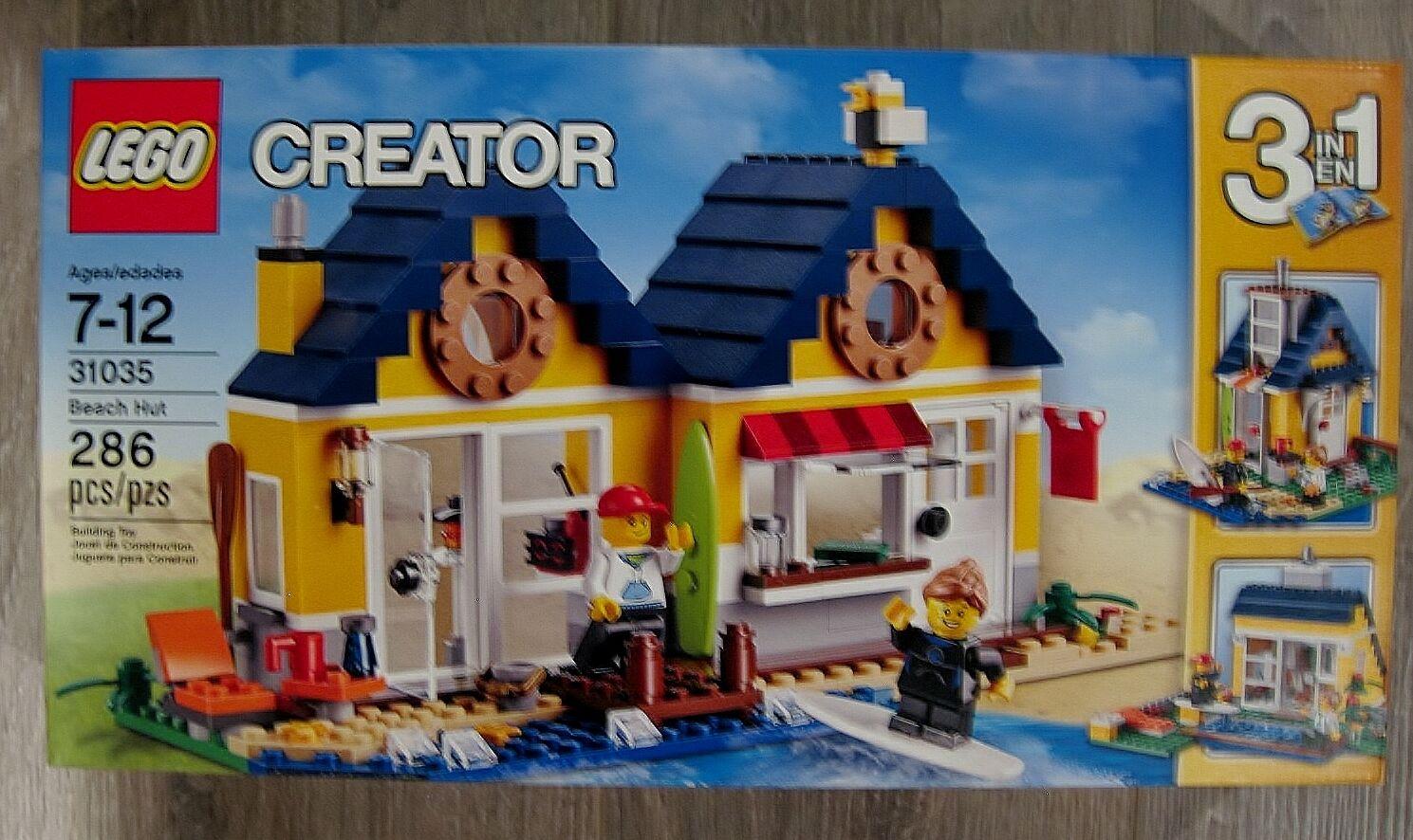 LEGO CREATOR 3 IN 1 BEACH HUT HUT HUT FACTORY SEALED 149b32