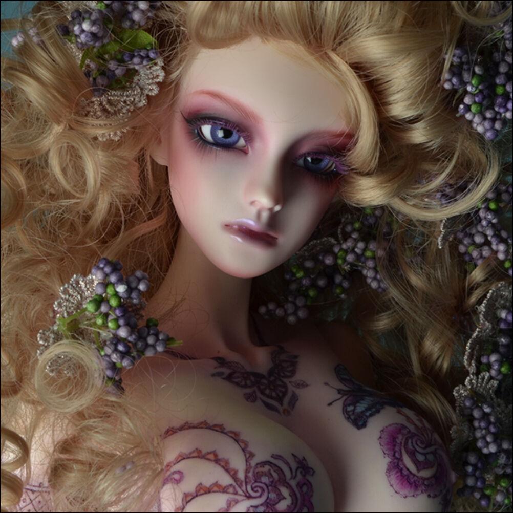 66.5cm 26  Model Doll - Half Moon ; Tattoo Ipsae - LE10