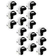 16rolls Address Labels 29 Mm X 90 Mm Fits Brother Ql 1050n 1050 Dk 1201 Dk 11201