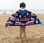Cotton Hooded Poncho Beach Bath Towel Colours Kids Children's Boys Girls@