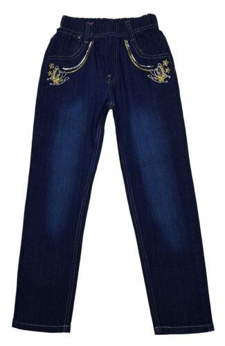 Ma douce fille jeans STRETCHJEANS Pantalon avec pourtour la bande élastique NOUVEAU m77a