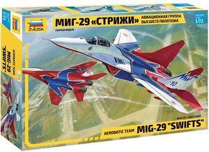Zvezda 7310 AEROBATIC TEAM MIG-29 SWIFTS 1/72