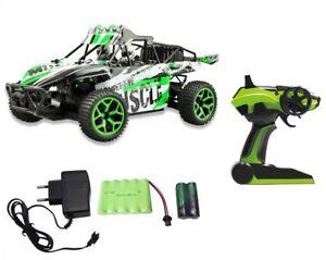 RC-Sand-Buggy-X-Knight-20km-h-4WD-Allrad-2-4-GHz-proportionales-Gas-gruen-NEU