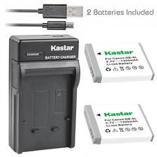 NB-6L Battery&Charger for Canon PowerShot SX280 HS, SX500 IS, SX510 HS, SX520 HS