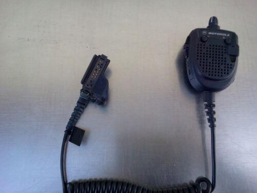 SPEAKER MICROPHONE RMN 5021A XTS RAISED PLASTIC PTT SAME PTT  AS COMMANDER II