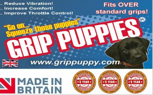 GRIP PUPPIES COVERS FITS OVER STANDARD GRIPS all Motorcycle Models