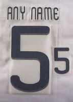 Sporting id Adidas 2010-12 Football Shirt Name & Number Printing Sets - NAVY