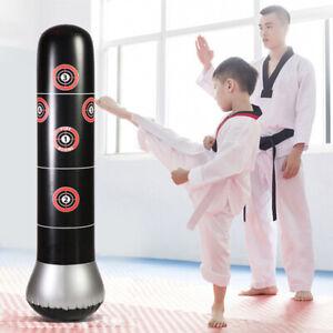 Boxsack-Sandsack-Erwachsene-fuer-Kinder-Aufblasbar-Standboxsack-NEU-150cm