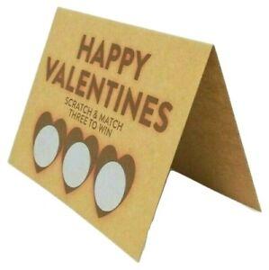 Valentines Gift For Him Girlfriend Boyfriend Funny Naughty Adult Scratch Card Ebay