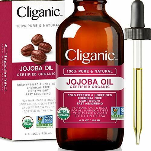 USDA Organic Jojoba Oil, 100% Pure  | Natural Cold Pressed U