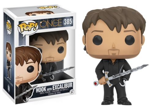 Once upon a time New ! Funko POP Hook with Excalibur 385 Vynil
