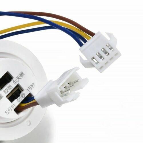 110-240V 360° Ceiling PIR Infrared Body Motion Sensor Detector Lamp Switch UK