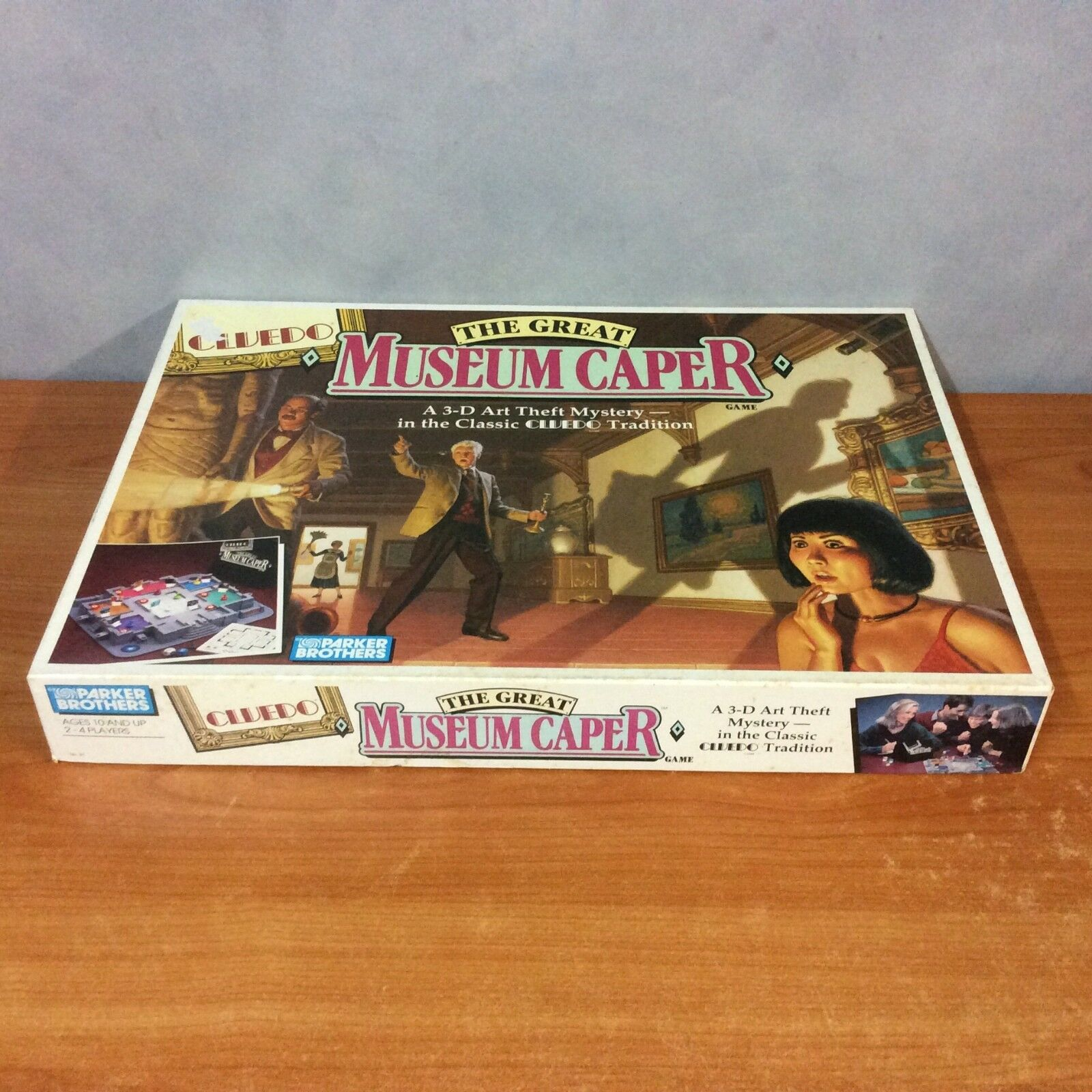 Cluedo The Great Museum Caper BoardGame - A 3D Art Theft Mystery - 100% Complete