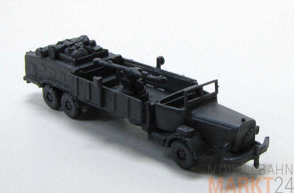 Ametralladora zielvorichtung en camiones 2. guerra mundial stand modelo militar escala 1 160
