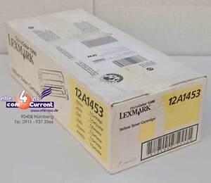 LEXMARK-OPTRA-COLOR-1200-12A1453-ToNER-AMARILLO-NUEVO-K