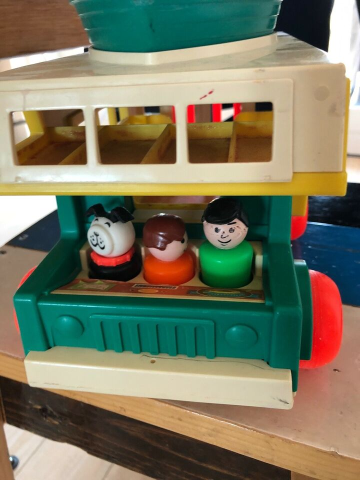 Andet legetøj, Fisher Price Play Family Camper, Fisher