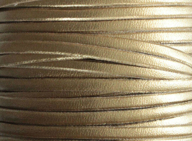 1m Kunststoffleder Band, 3,5mm Breit