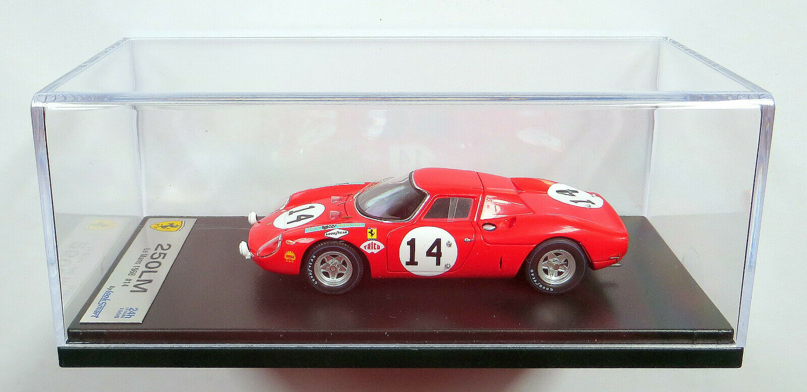 LOOKSMART (comme Spark)  1 43 LSLM 041  FERRARI 250 LM   14 Le Mans 1968