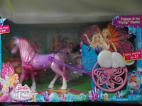 Barbie - Mariposa & The Fairy Princess - Pegasus & The flying Chariot