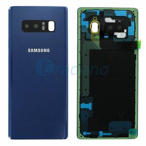 Original-Samsung-Galaxy-Note-8-N950F-Akkudeckel-Deckel-Backcover-Blau-Blue-Bleu