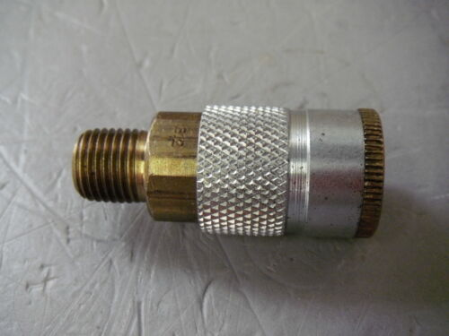 Parker B12 Quick Disconnect Pneumatic Coupling 1//4-18 Male Pipe Thread