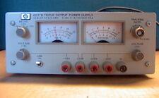 Hp Hewlett Packard 6237b Triple Output Power Supply 0 18v 0 1a 0 20v0 05a