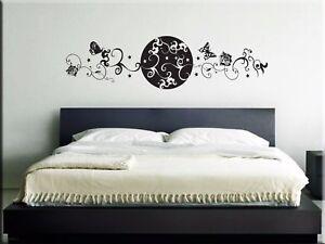 Decorazioni Murali Camera Da Letto : Adesivi murali testata letto decorazioni da parete wall stickers