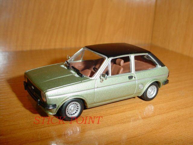 suministro directo de los fabricantes Ford fiesta 1978 verde verde verde suave Negro súperior 1 43    buenas condiciones     tienda en linea