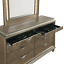 thumbnail 8 - NEW Modern LED Queen King 4PC Champagne Gold Bedroom Set Glam Furniture B/D/M/N