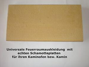 50-x-20-x-3-cm-Schamotte-Platte-fuer-die-Feuerraumauskleidung-Kaminofen-Kamin