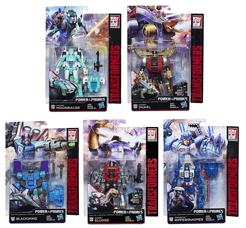 HASBRO TRANSFORMERS GENERATIONS POWER OF THE PRIMES DELUXE WAVE 2 ACTION FIGURE