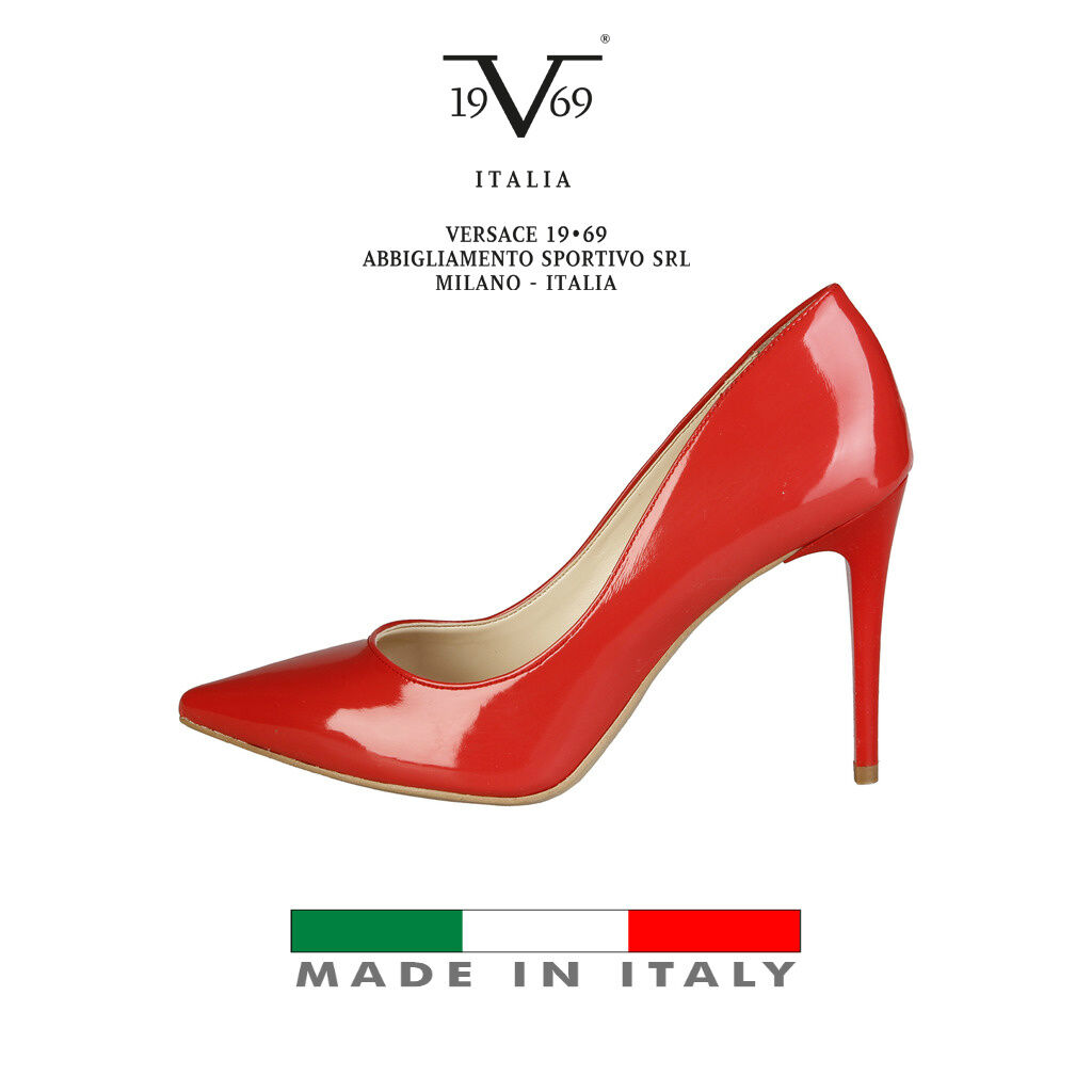 V1969 italy designer heel shoes