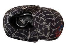 Venom Helmet Cover Wired Web Black Off Road Motorcycle Skin MX Dirt Bike ATV +